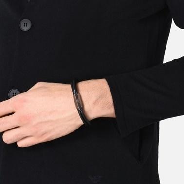 Emporio Armani Bileklik Siyah